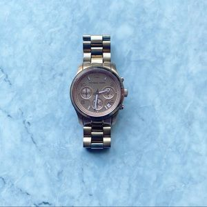 Michael Kors Rose Gold Plated Stainless Watch